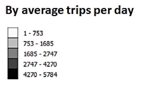 Figure 3-Uber trip density, 2017 1