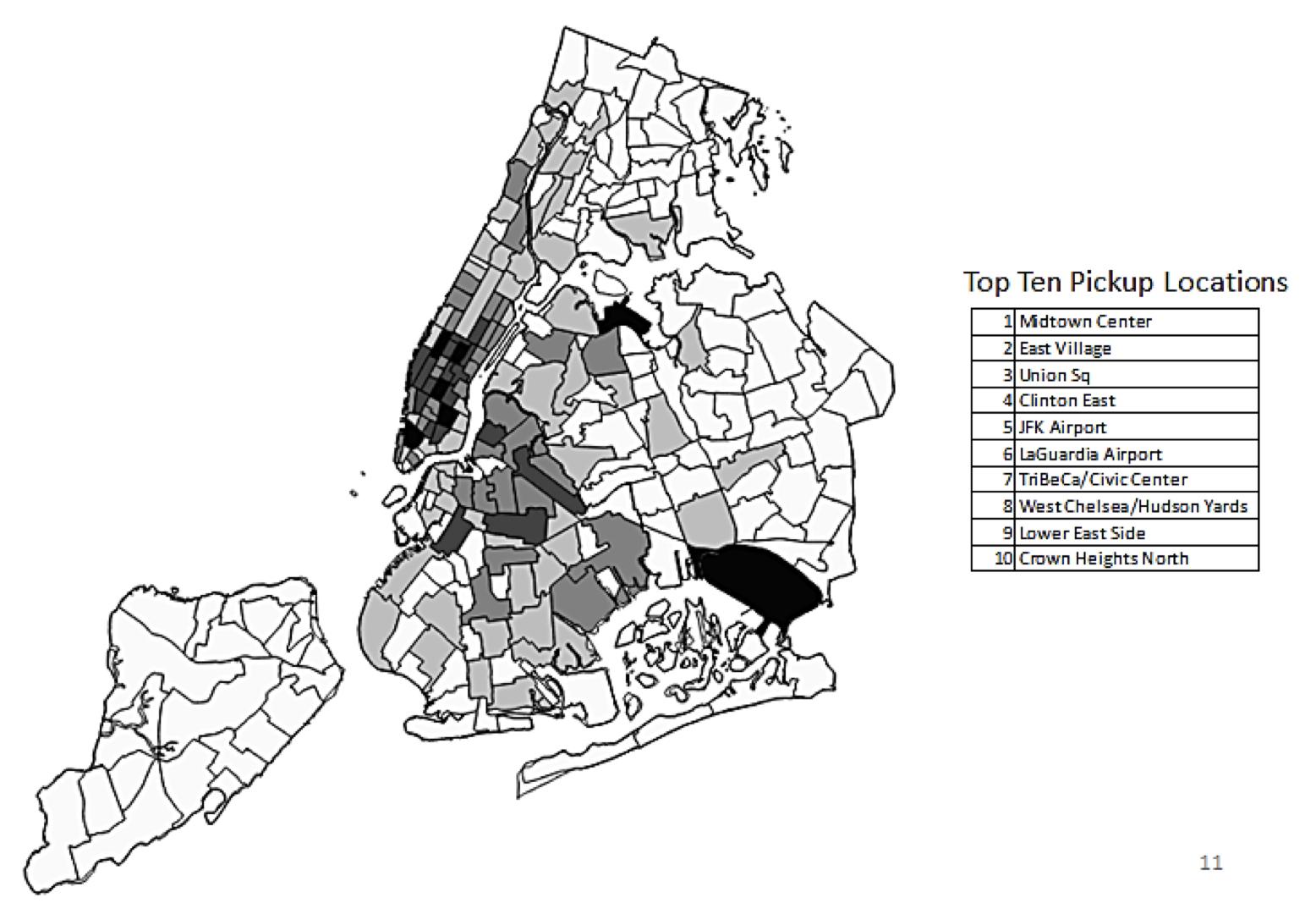 Figure 3-Uber trip density, 2017 2
