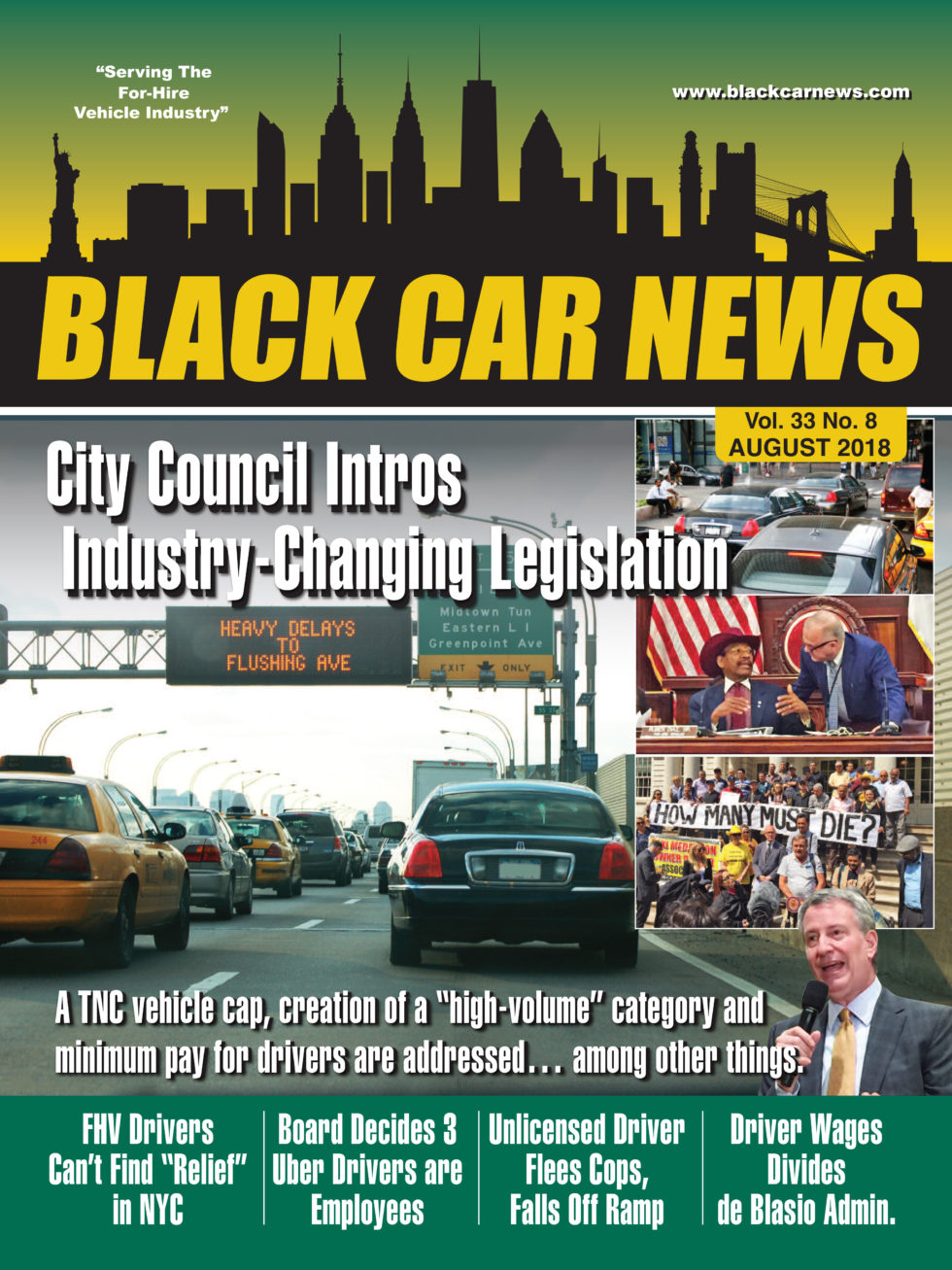 black car news - august 2018 - vol. 33 no. 08