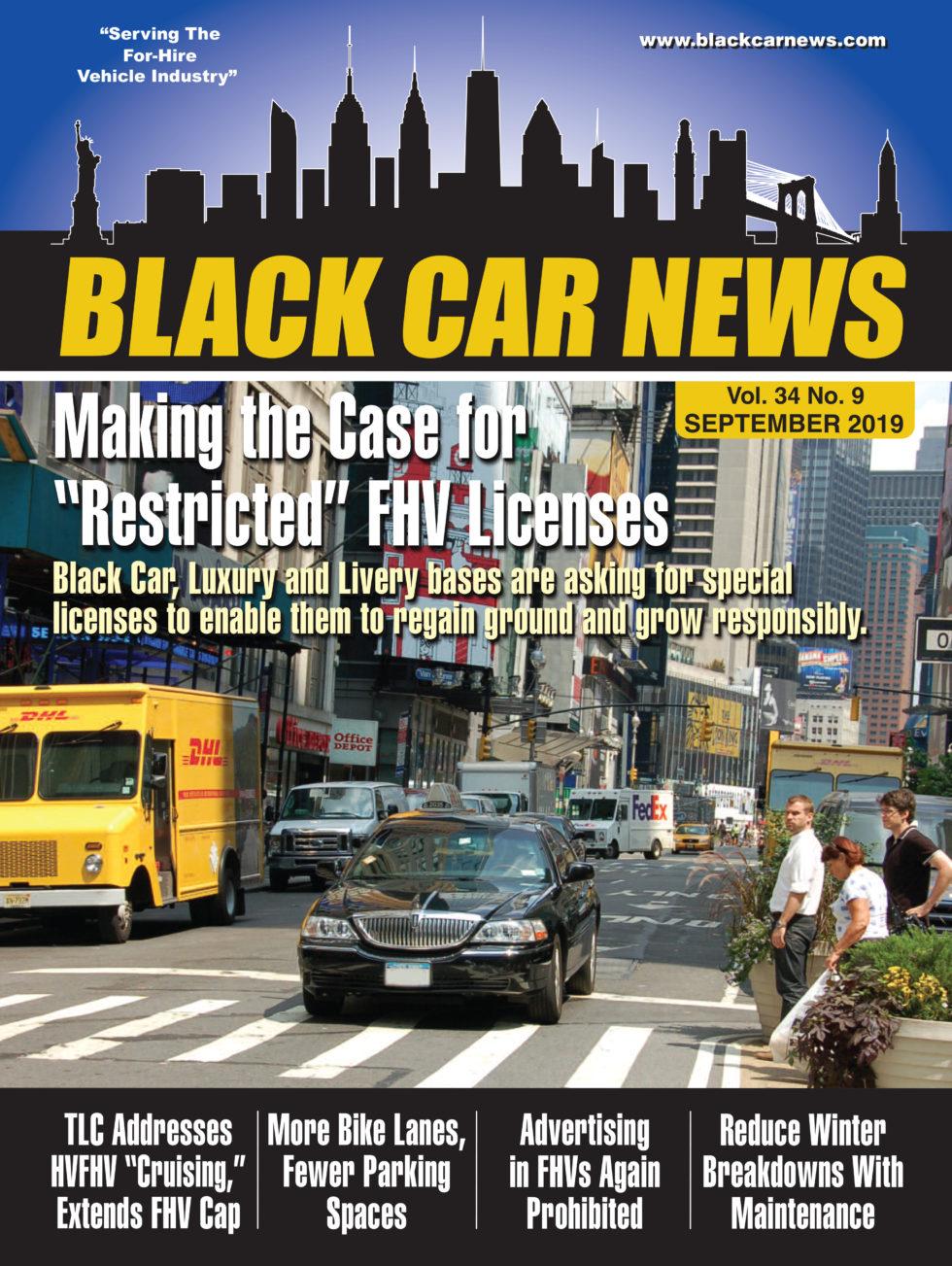 Black Car News - September 2019 - Vol  34 No  09